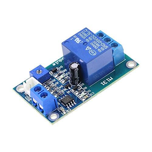 Tablero de relé Módulo de Control automático del Sensor de detección de Interruptor de CC 12V Control de luz Módulo de relé Fotorresistor 10A Brillo para Control de automatización.
