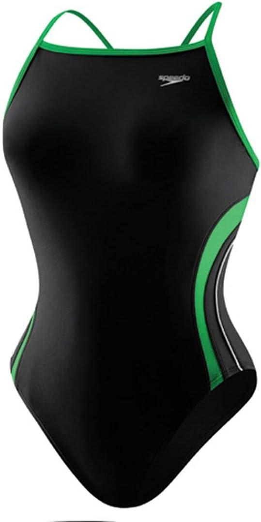 Speedo Rapid Spliced Energy Back Swimsuit - Youth