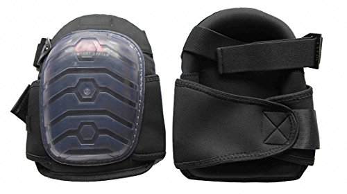 Westward 12F683 Knee Pads, Swivel, Gel, 1 Sz Fits All, 1PR