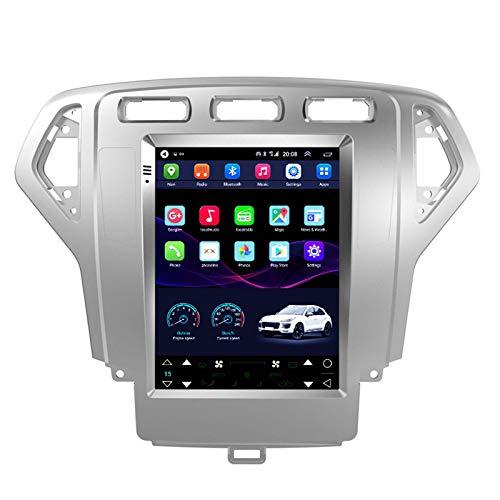 GPS de 9,7 pulgadas, navegación automática de 2GB + 32G, pantalla vertical navegación inteligente Android, adecuado para Ford Mondeo 07-10, notificación de voz en diversas condicion(Size:WIFI 2G+32G)