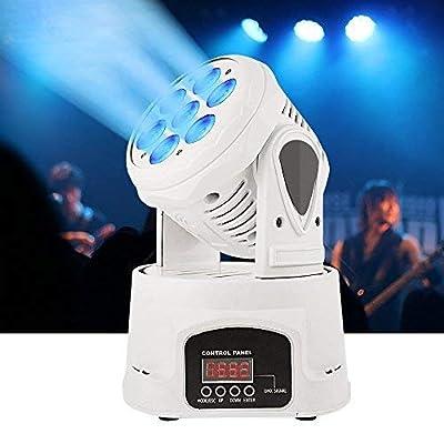BETOPPER (LM70N) Stage light Mini LED moving head professional DMX512 7x8w LEDs RGBW dj party disco wash lights(100W)