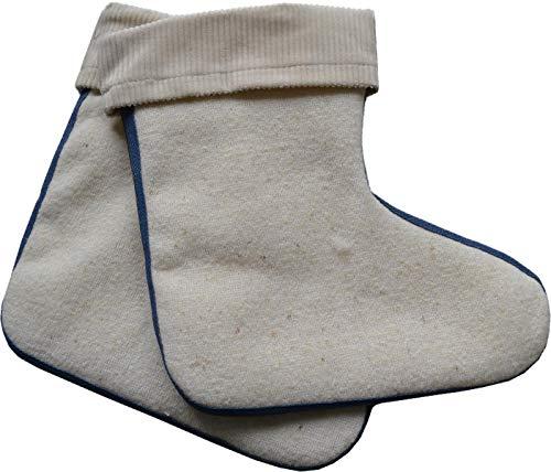 Stiefelsocken aus Lammwolle Made in Germany Größe 23-24
