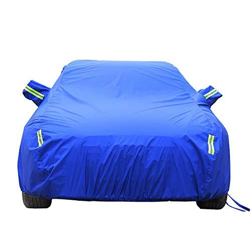 Housses pour auto Couverture de voiture fonctionne avec Saab 9-5 Couverture de voiture Couverture de berline entièrement imperméable à l'eau tous temps soleil protection contre la pluie UV Sept styles