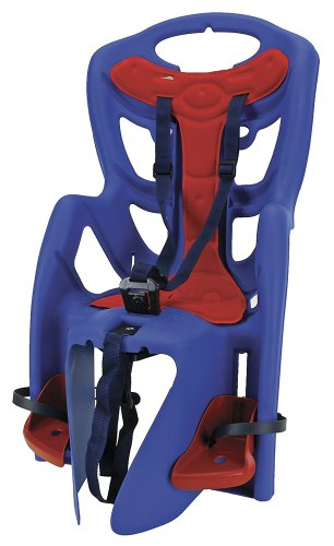 Sonstige Messingschlager Light ll - Silla Infantil para Bicicleta, Color Azul
