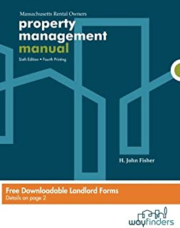 Property Management Manual For Massachusetts Rental Owners