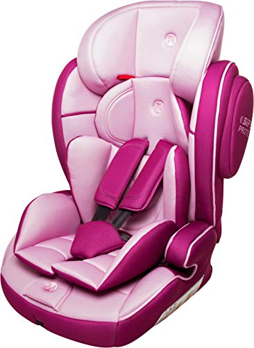 Babyblume Kindersitz Lotus Gruppe 1 2 3 (9-36 kg) - pink