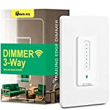 3 Way Smart Dimmer Switch by Martin Jerry | Touch Trailing Edge 4 Way Smart Dimmer Switch, SmartLife App, Compatible with Alexa as WiFi Light Switch Dimmer, Works with Google Home