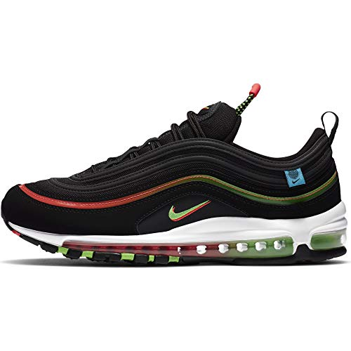 Nike Air Max 97 Worldwide Black Green Strike, color Negro, talla 40.5 EU