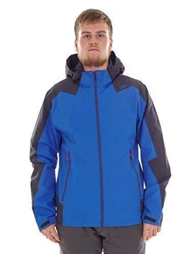 CMP Un Zip Hood Jacket - N951 Royal, 54