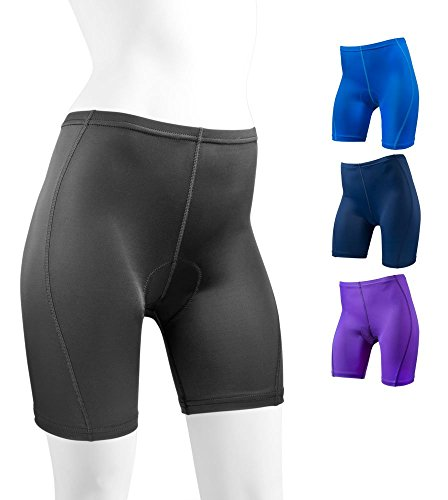 Women's Classic Padded Bike Shorts Riding Cycling Bicycle Biking - Made in USA