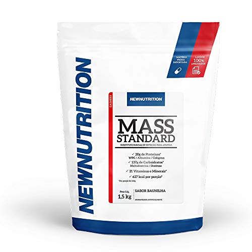 Mass Standard 1,5kg Baunilha NewNutrition