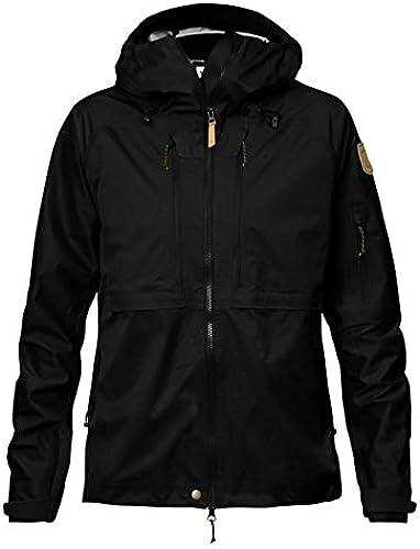 FJALLRAVEN Keb Eco-Shell Jacket W Veste Femme, Noir, XS
