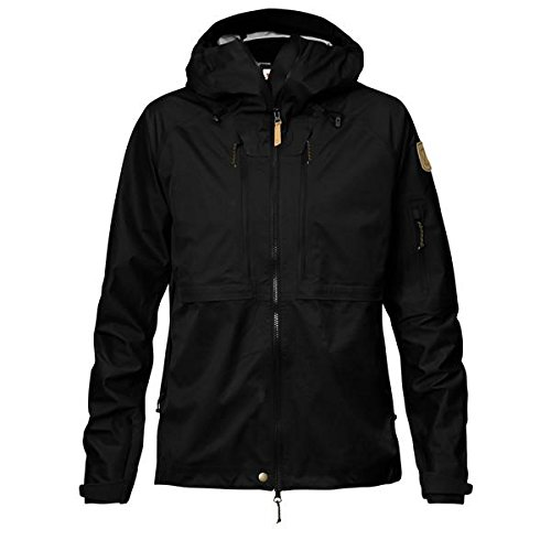 Fjallraven, Keb Eco-Shell Jacket W Blouson Femme, Noir, M