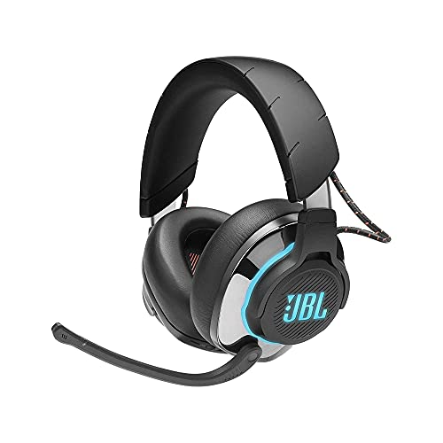 JBL Quantum 800 - Wireless Over-Ear Performance Gaming Headset with Active Noise Cancelling and Bluetooth 5.0 - Black (Electronics)