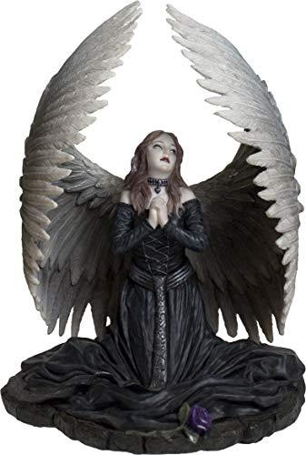 Nemesis Now Prayer for The Fallen - Figura Decorativa (23 cm), Color Negro