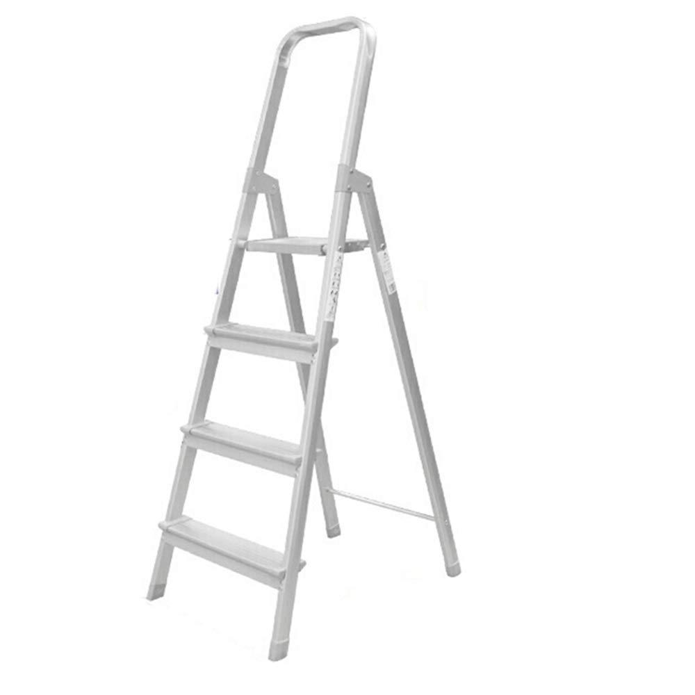 Maybesky-hm Escalera de Mano 3/4 Escalera Plegable con un cómodo asidero portátil de Acero Taburete de Paso de Escalera Ideal for DIY Escalera Uso en el hogar para el hogar/Cocina/Garaje: Amazon.es: Hogar