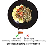 Zoom IMG-2 padella wok con coperchio pentola