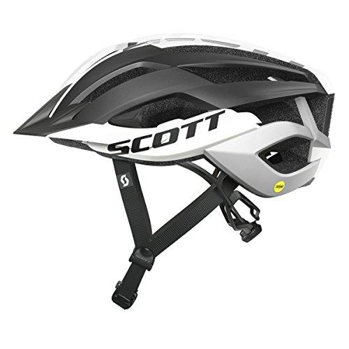 Scott Arx MTB Plus Fahrrad Helm schwarz/weiß 2019: Größe: M (55-59cm)