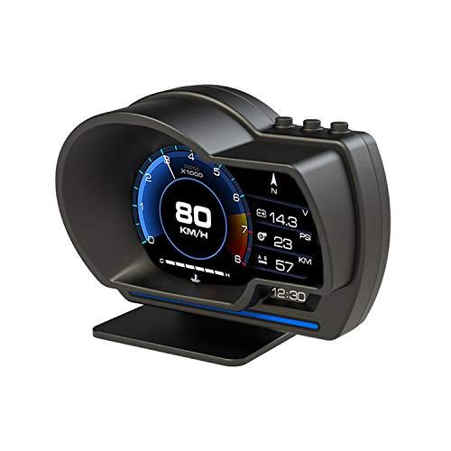 Auto Head Up Display iKiKin OBD2 GPS Dual Smart Messgerät, LCD-Messgerät Sehr geehrter Fehlercode Lesen Sie den Datenstrom, der für alle Autos geeignet ist