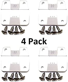 JSP Manufacturing New AFTERMARKET Coleman Replacement Cooler Hinges + Stainless Screws (4)