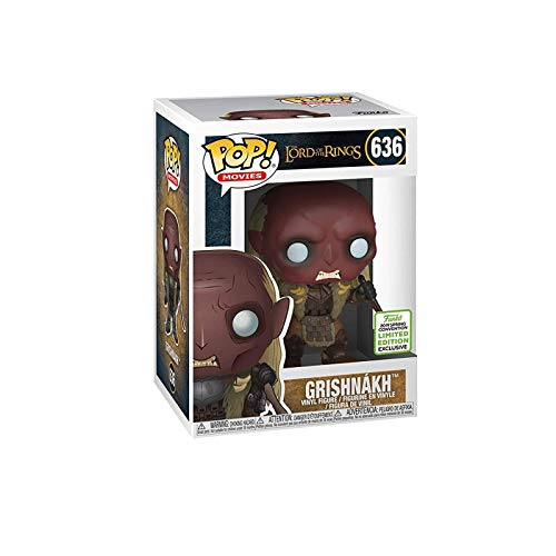 Gogowin Pop Movie : The Lord of The Rings - Grishnakh (Convention 2019 Exclusive) 3.9inch Vinyl Gift for Boys Fantasy Movie Fans