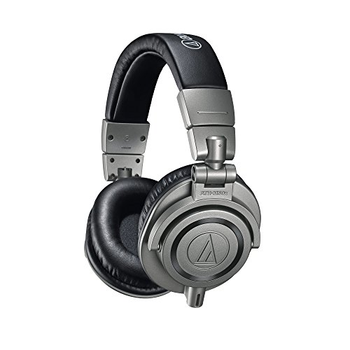 Audio-Technica ATH-M50xGM Professional Monitor Headphones, Gun Metal