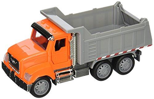 DRIVEN by Battat WH1006Z Micro Dump Dumper, Luces y Sonidos - Camiones, Vehículos de Trabajo y Juguetes de Construcción para Niños a Partir de 3 años, Multicolor