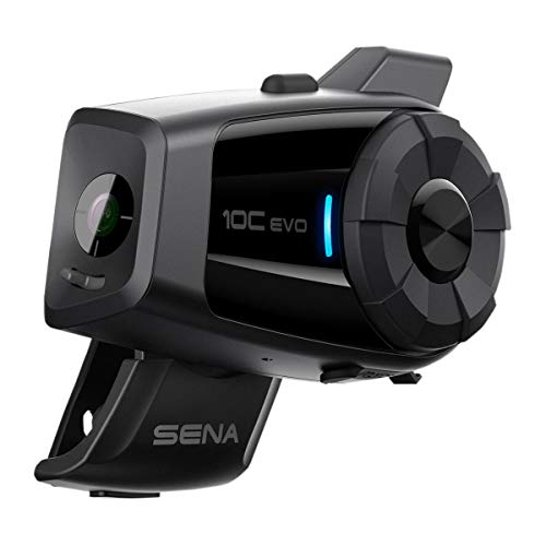 Sena 10C-EVO-01 Black One Size 10C EVO Motorcycle Bluetooth Camera & Communication System