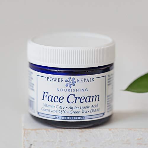 Anti Aging Antioxidant Face Cream Power Repair High Potency Antioxidant Collagen Boosting Natural Organic Skin Facial Care 1.75 Ounces