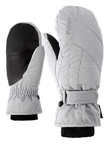 Ziener KARMANI GTX(R)+Gore Warm Lady Glove Gants de Ski Femme, Light Melange, FR Unique (Taille Fabricant : 8)