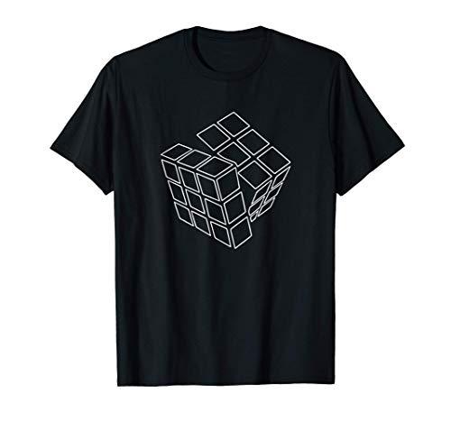 Rubik Rubix Rubic Cube Solucionador de Problemas Impresionan Camiseta