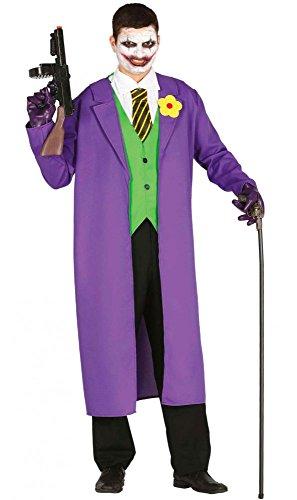 shoperama Gauner Herren-Kostüm GUI Gotham Comic Film, Größe:M