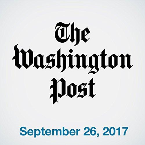 September 26, 2017 copertina