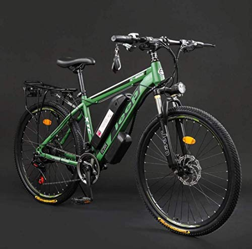 Leifeng Tower Ligero, Adulto Bicicletas 26 Pulgadas Electric Mountain, 36V batería de Litio de Alta Velocidad de Acero al Carbono 24 Bicicleta eléctrica, con Pantalla LCD Liquidación de inventario