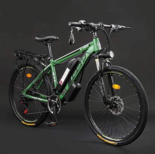 GMZTT Unisex BICICLEY Adulto Bicicletas 26 Pulgadas Electric Mountain, 36V batería de...
