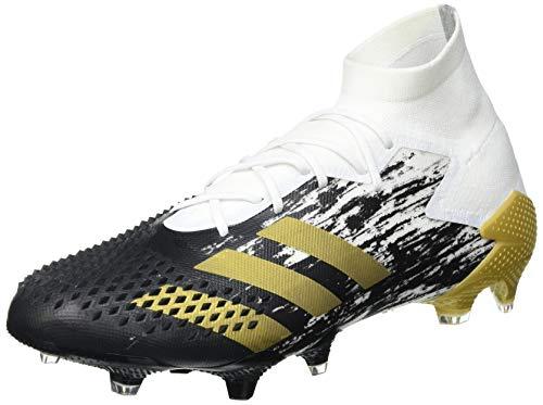 adidas Predator MUTATOR 20.1 FG, Zapatillas de fútbol Hombre, FTWBLA/Dormet/NEGBÁS, 43 1/3 EU ✅