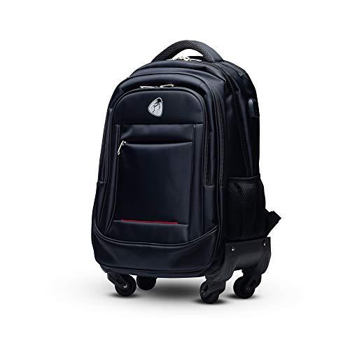 BLITZER Business Rucksack mit Trolley Funktion - 60L Fassungsvolumen - Funktionelle Laptop-Tasche für Damen & Herren - Perfekt für Business, Reisen und unterwegs - Unisex