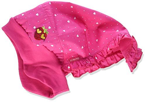 maximo Mädchen Kopftuch Mütze, Mehrfarbig (Pink Rose-Herzen/Sun Pink 6425), (Herstellergröße: 51)