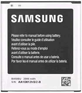 Samsung OEM Original Standard battery B450BU for Samsung Galaxy S3 S III Mini AT&T SM-G730A Verizon SM-G730V - Non-Retail Packaging - Black (Renewed)