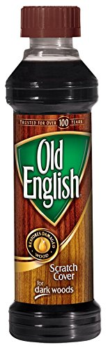 Old English 75144 Scratch Cover, 8 Fl Oz (Pack of 1), Browm