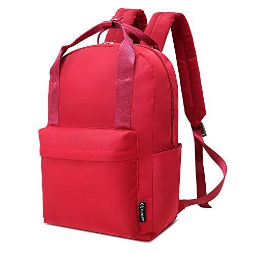 ZOMAKE Cute Backpack, Classic Bookbag Water Resistant School Backpacks for Teen Girls, Women