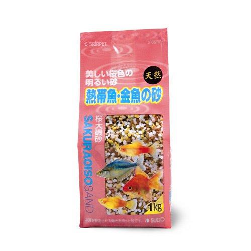 スドー 桜大礒砂 1kg