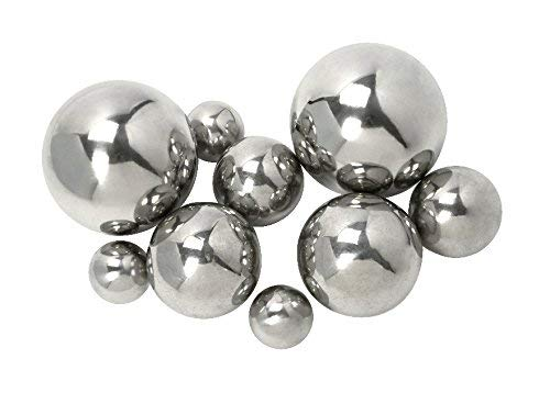 IMAX 10889-9 CKI Abbott Steel Decorative Ball, Set of 9