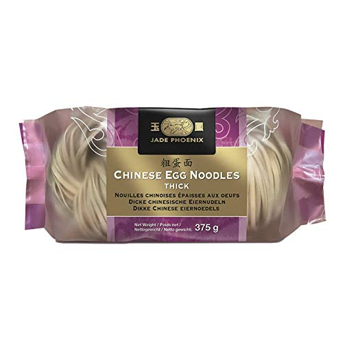 JP Chinesische Nudeln - dick - (6x375g) Jade Phoenix thick Chinese noodles