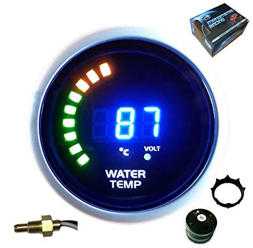 VEGA Manomètre température d'eau 20-150 °C Affichage numérique et LEDs 52 mm Marque Française