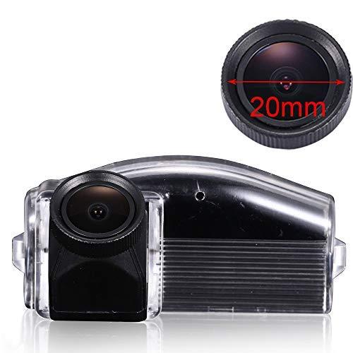 Kalakus Auto Rückfahrkamera Integrierte Kennzeichenbeleuchtung Nachtsicht 170°Winkel Wasserdicht HD CCD Rückansicht Kamera Einparkhilfe für Mazda 2 Mazda 3 2007-2009