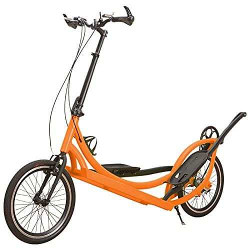 Bicicleta De Pie Para Exteriores, Bicicleta ElíPtica Para Exteriores Con TransmisióN De Tres Velocidades, RotacióN De La Rueda Dentada, Bicicleta De Pie Para Exteriores De Rendimiento En Carretera