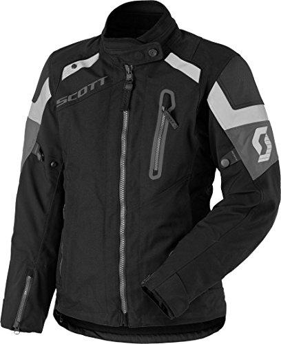 Scott Definit Pro DP Damen Motorrad Jacke schwarz/grau 2019: Größe: 40