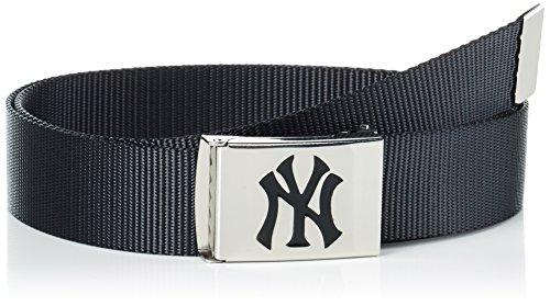 MSTRDS MLB Premium Woven Belt Single Ceinture, Noir (Black 3359), Taille Unique Homme
