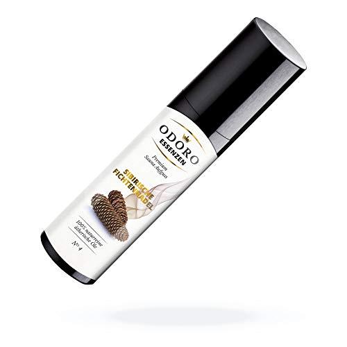 Saunaaufguss Duft Set inkl. Holzständer – 100% ätherische Öle – Fichtennadel, Kiefernadel, Zirbelkiefer – Premium Aufguss Konzentrat Geschenkset – Natürliches Aufgussmittel, naturrein, hohe Qualität - 5